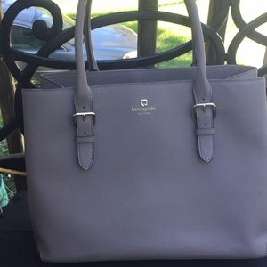 Kate Spade Gray tote  large preowned